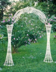Wicker White Arch Lancaster PA